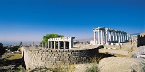 bergama ancient city history theater